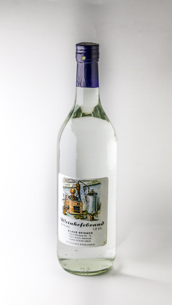 Weinhefe 1,0 Liter 40%vol